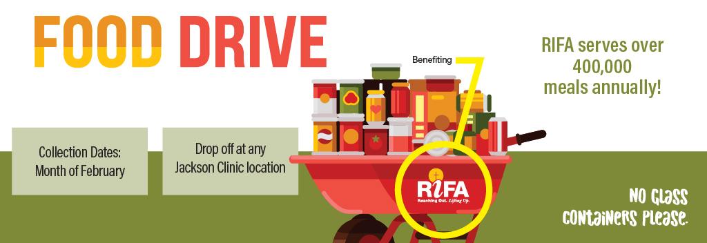RIFA Food Drive